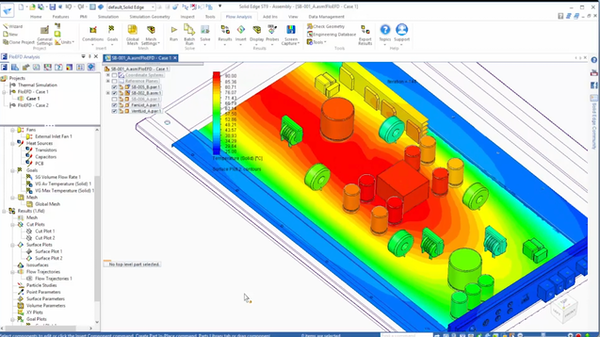 Strömungs- und thermische Simulation mit FloEFD