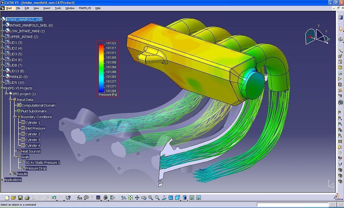 FloEFD CATIA V5 - CFD fully embedded in CATIA V5 - Mentor