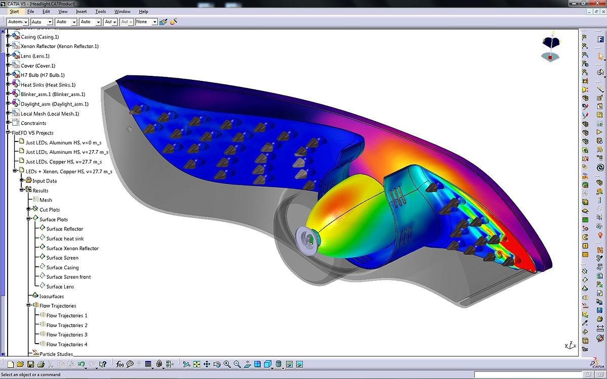 FloEFD CATIA V5 - CFD fully embedded in CATIA V5 - Mentor