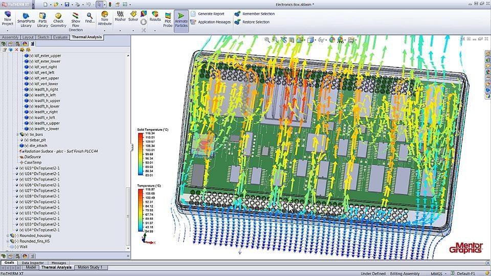 Flotherm Xt Across The Design Flow Mentor Graphics