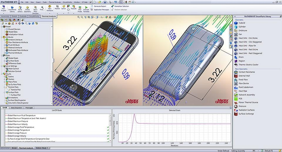 FloTHERM XT: New CAD-centric Approach to Thermal Engineering