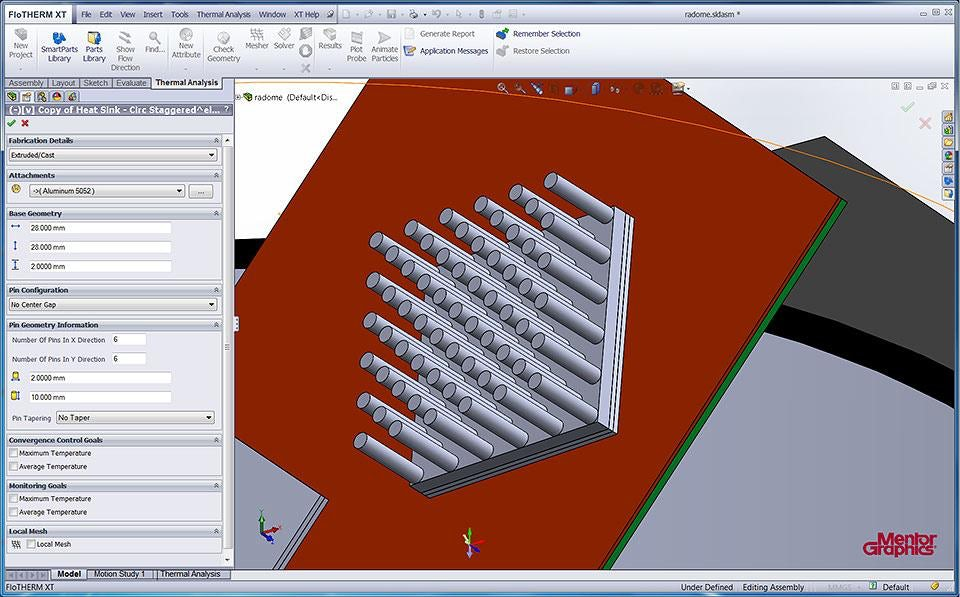 FloTHERM XT: Fast, Accurate Model Creation and Simulation