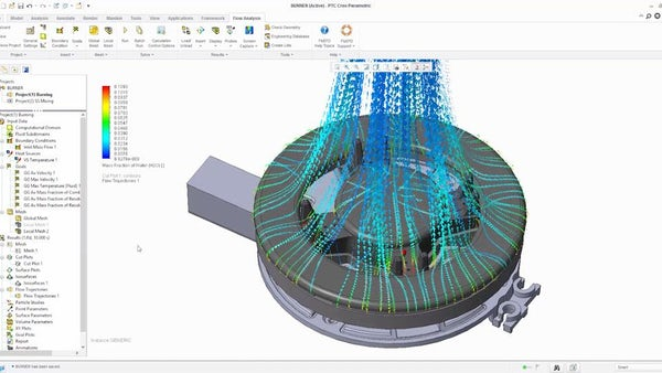 Combustion Simulation with FloEFD - Mentor Graphics