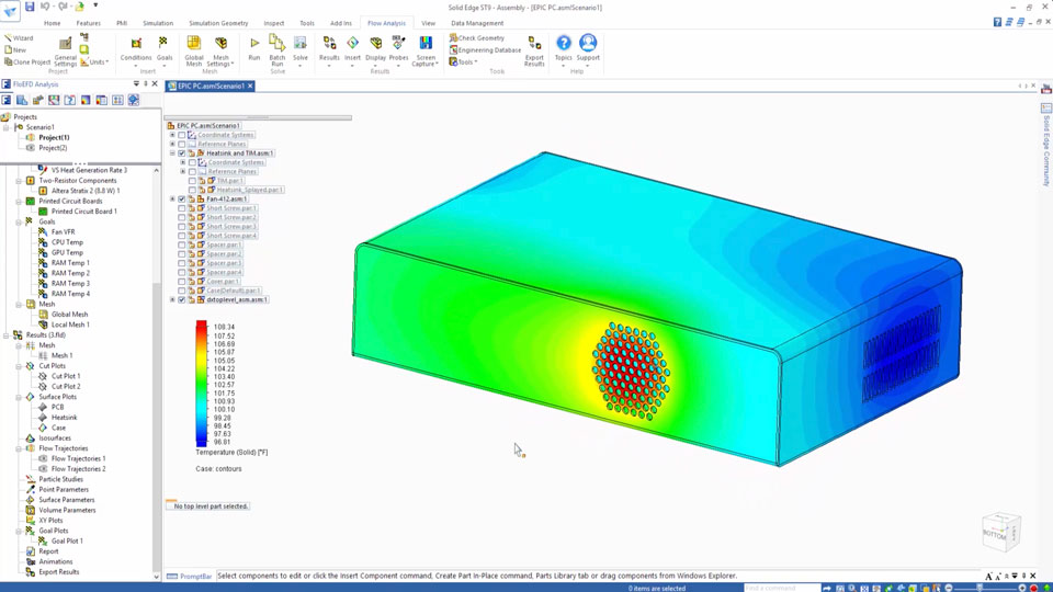 CAD-Embedded Electronics Thermal Management with FloEFD - Mentor ...