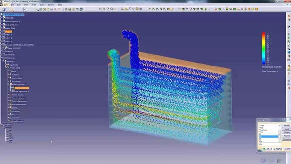 Front Loading CFD Analysis for Optimizing Heat Exchanger