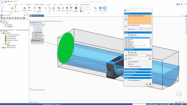 How to model fans in electronics cooling simulation with