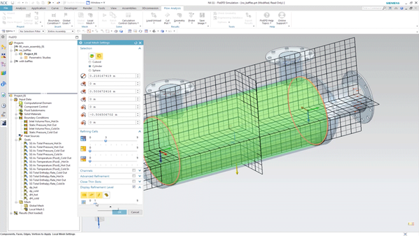 FloEFD for Siemens NX – CAD-embedded CFD for Siemens NX