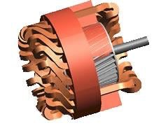 Accurately modeling the skewed rotor of an Induction Motor