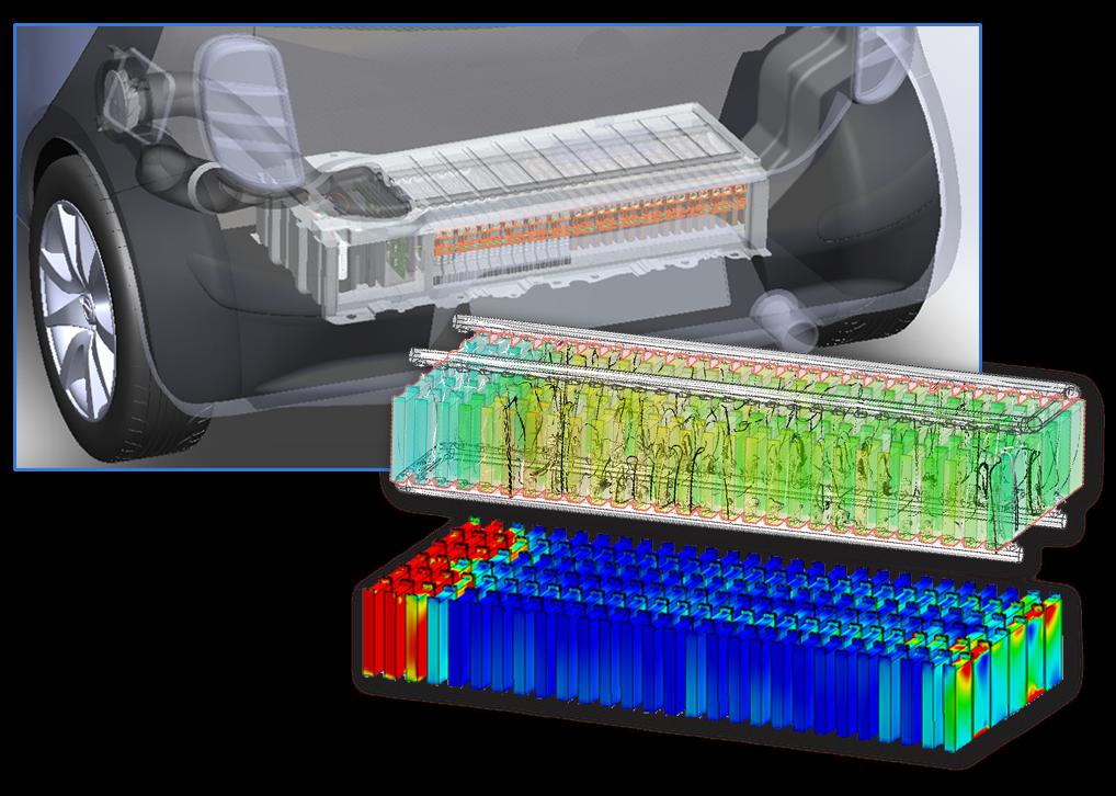 Vehicle Battery Pack Cooling Upfront Design Studies