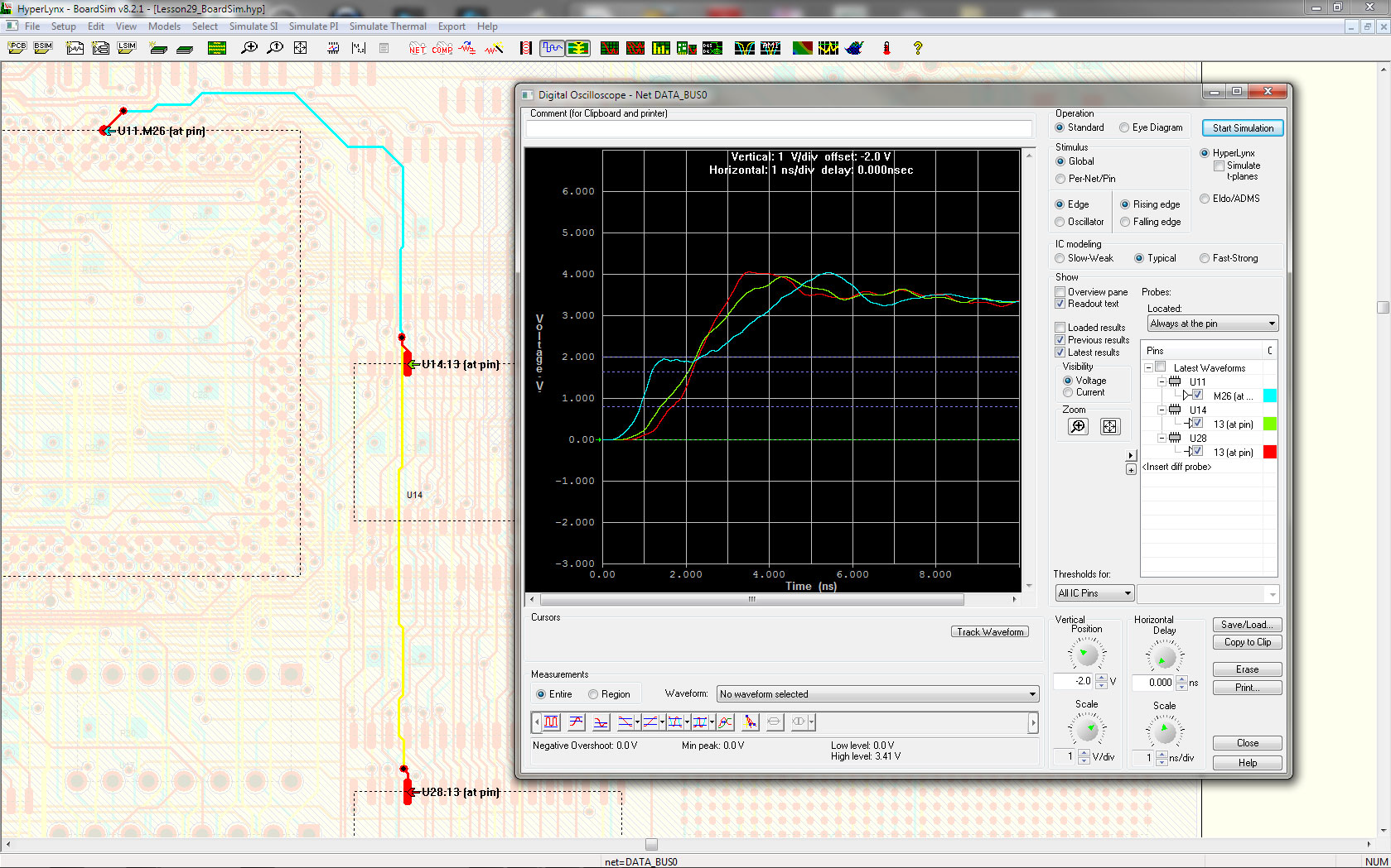 PADS Professional Analysis - Mentor Graphics