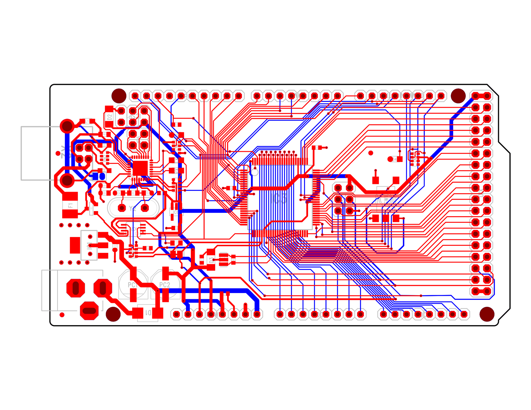 Arduino Mega 2560 Mentor Graphics