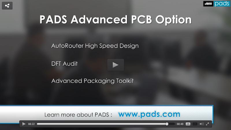高度なPCBオプション: PADS Standard Plusを強力に