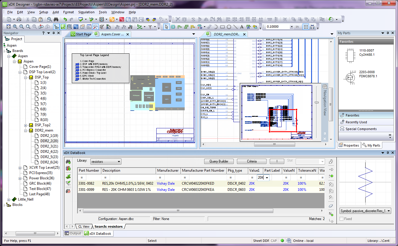 PADS Standard/Plus Schematic Design - Mentor Graphics