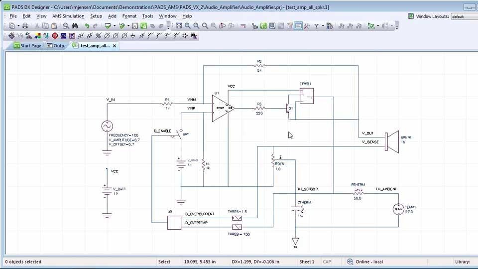 PADS AMS Design Suite - Simulate and optimize analog, mixed-signal ...