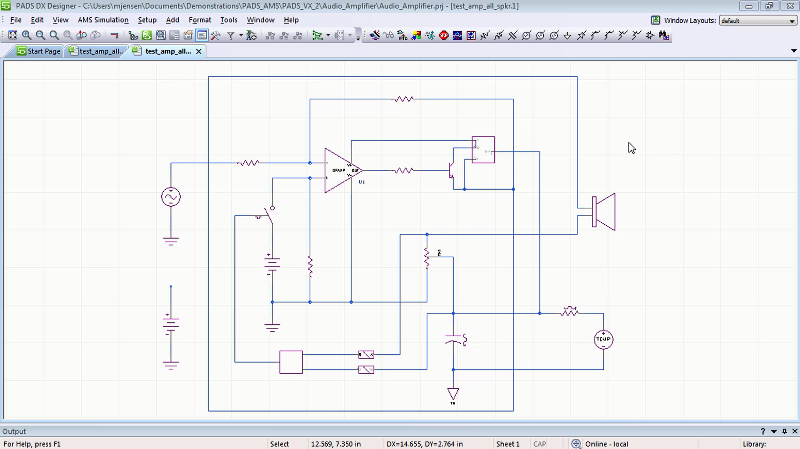 PCB設計と回路シミュレーショのための最先端の回路図設計ソリューション