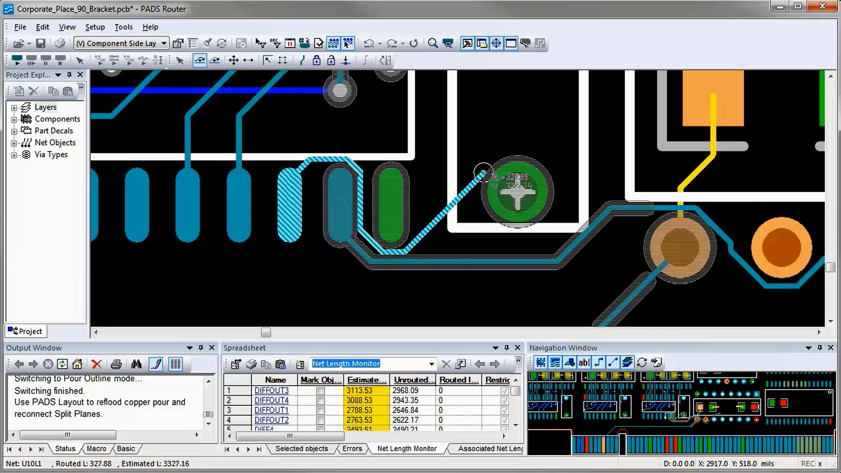 Window Simplify Pcb Layout Nve Media Buildelectroniccircu Design With Interactive Routing