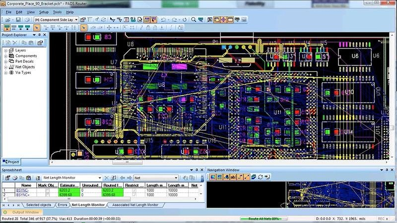 PADS Autorouter - Mentor Graphics