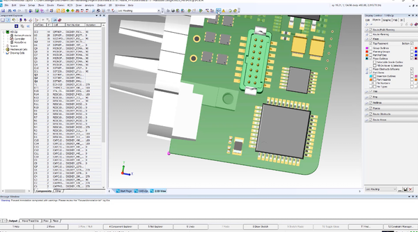 Hardware design with PADS Professional - Mentor Graphics