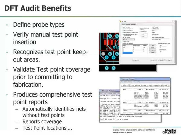 Decrease PCB Time-To-Market with PADS Design For Test (DFT) - Mentor