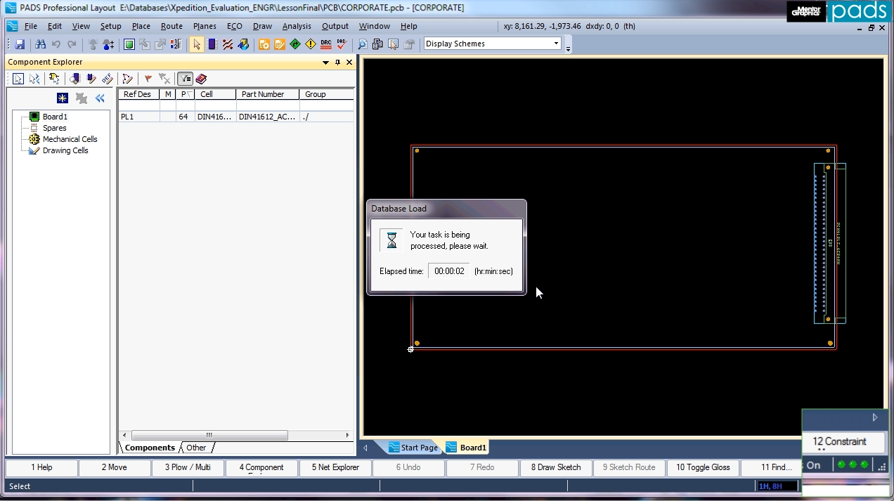 Tight integration between schematic and PCB enables seamless