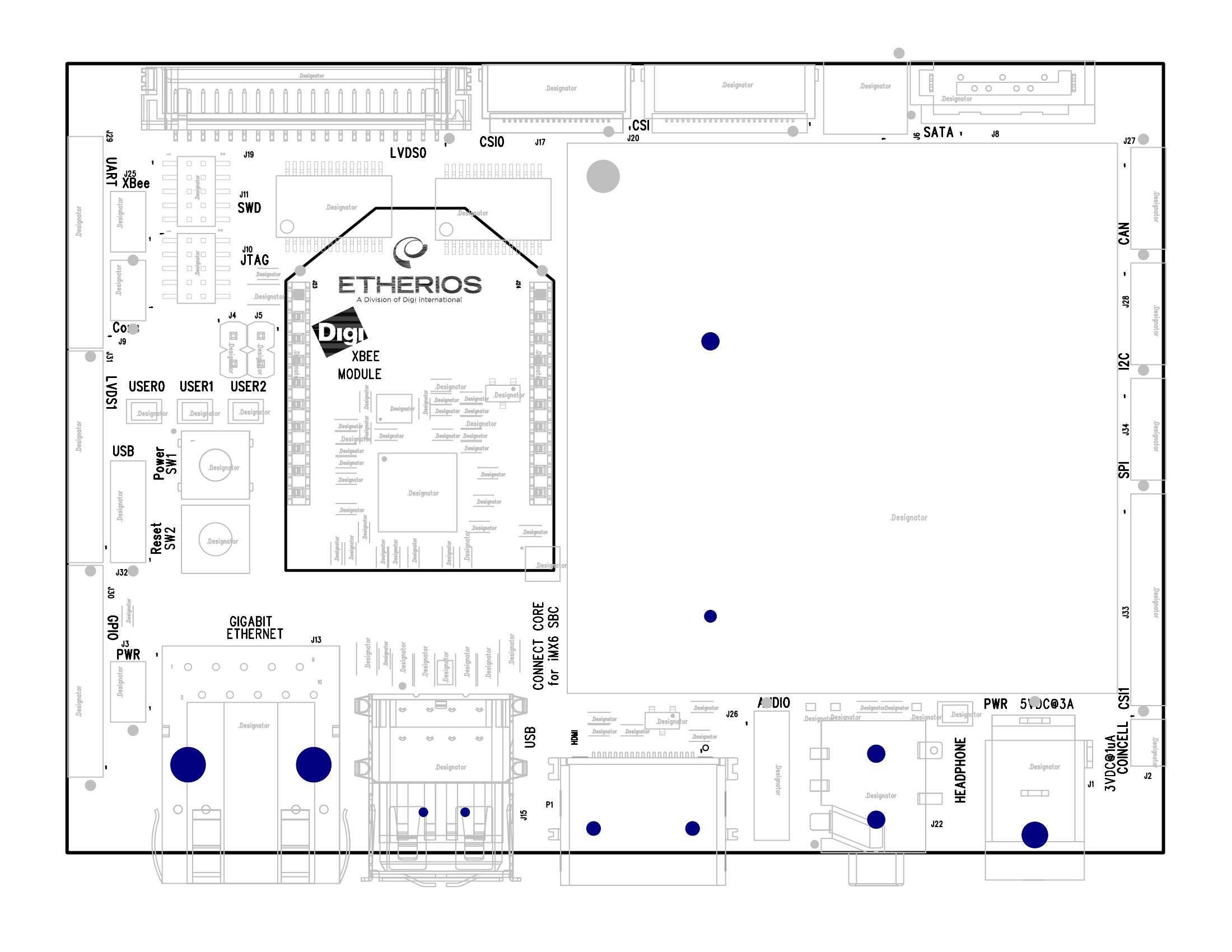 connectcore6 development kit
