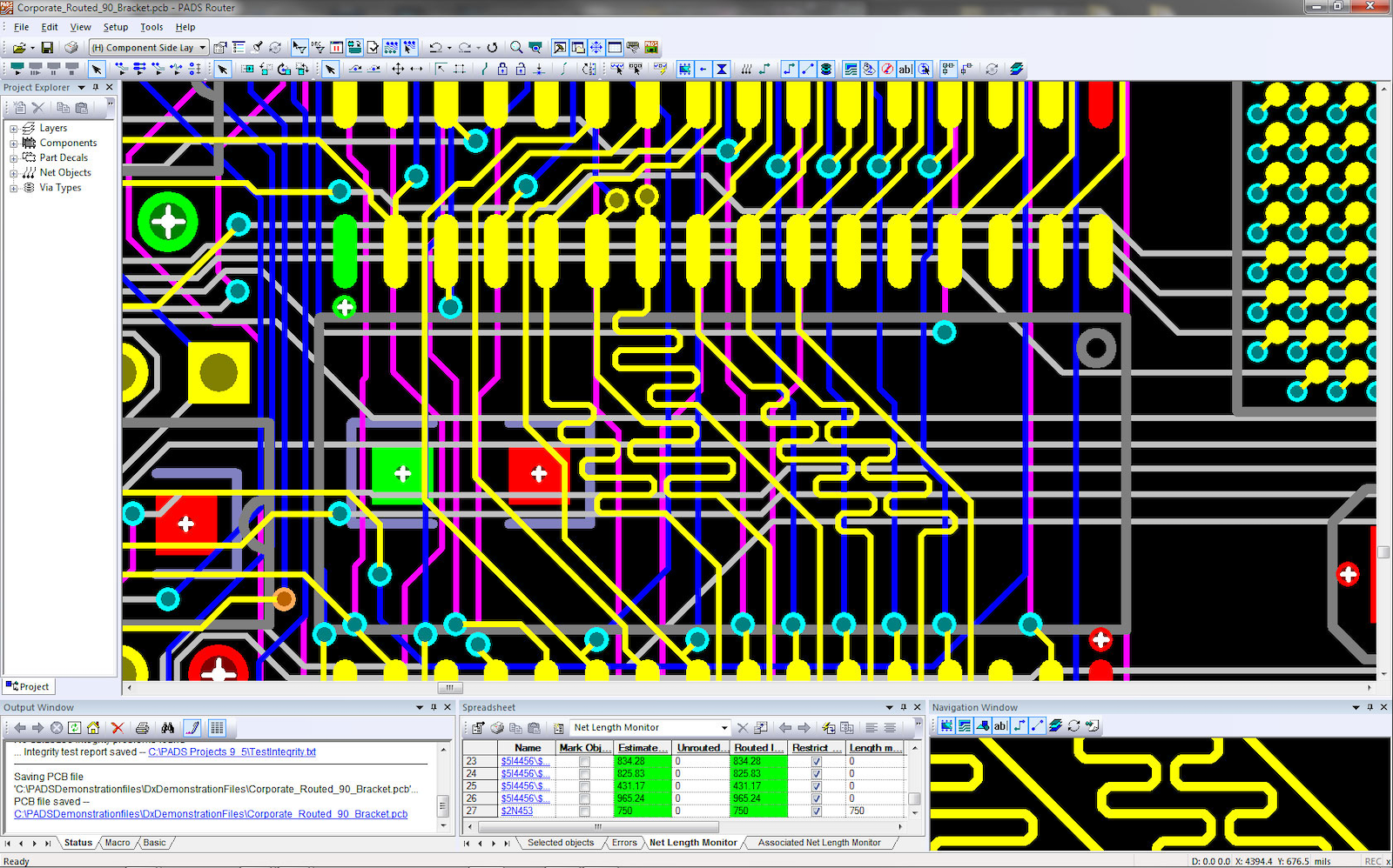 PADS Standard Layout - Mentor Graphics