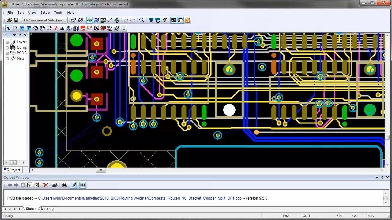 Mentor graphics pads layout download