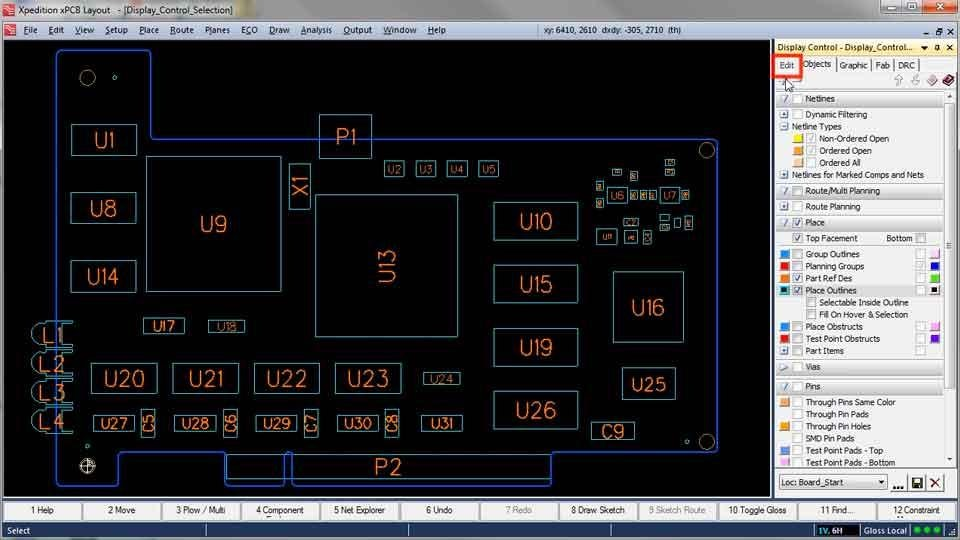 Display Control Amp Selection Dialog Mentor Graphics