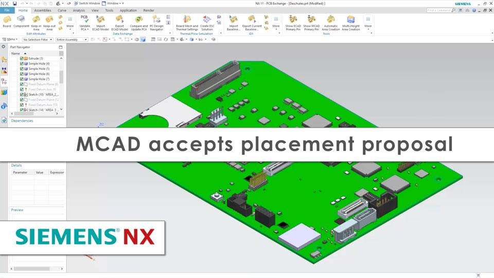 Eliminating ECAD-MCAD Domain Barriers with Siemens NX