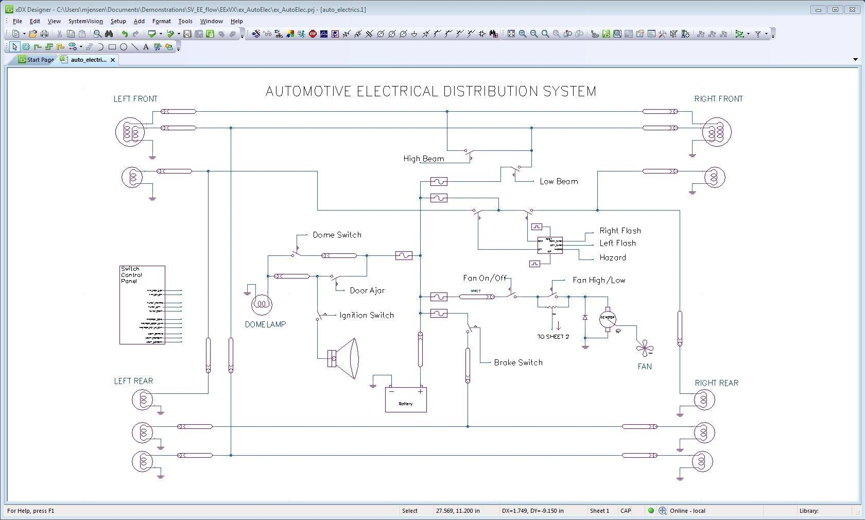 Systemvision Virtual Lab For Mechatronic System Design And Online Electronic Circuit Simulator Electrical Blog