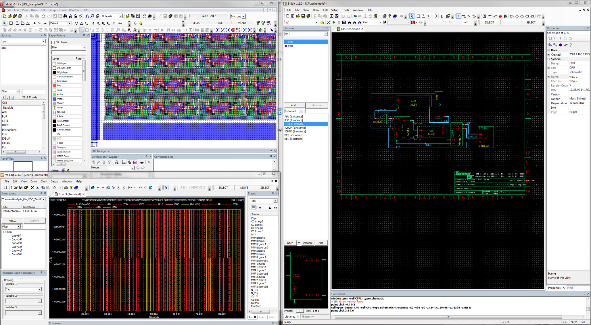 Tanner Ams And Mems Flows Mentor Graphics List Of Electronic Circuit Design Software