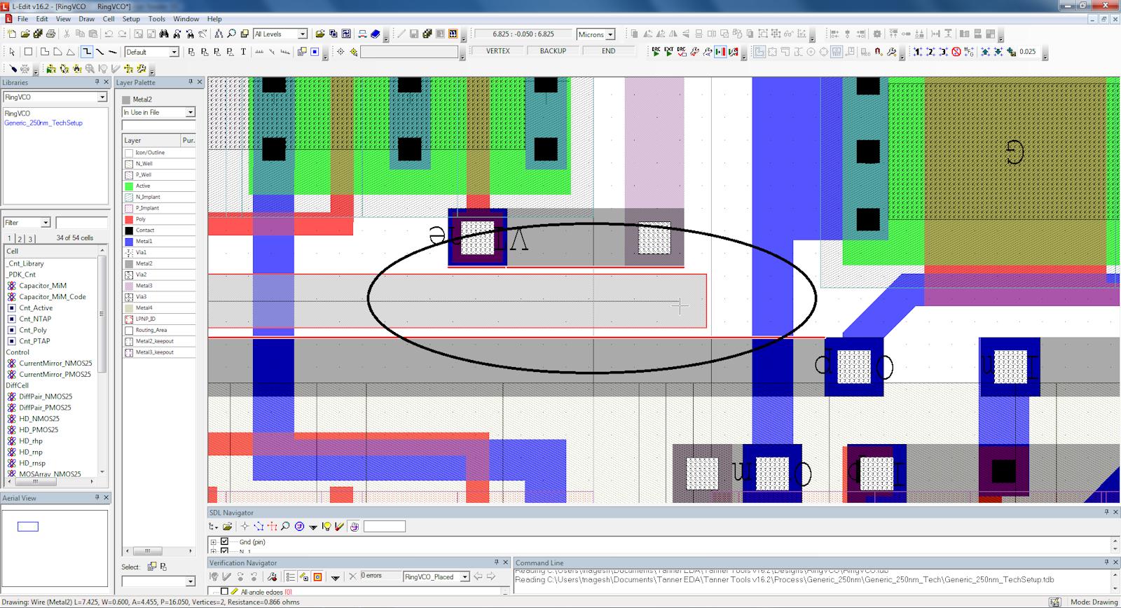 extensive ic layout designer