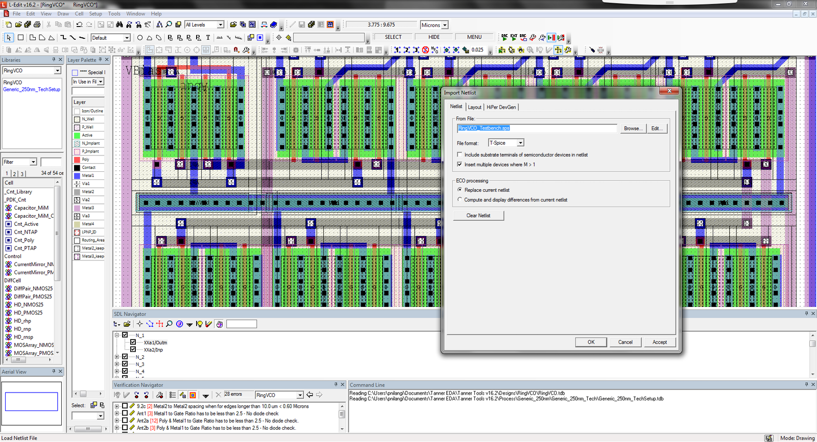 supports critical industry standards ic layout designer