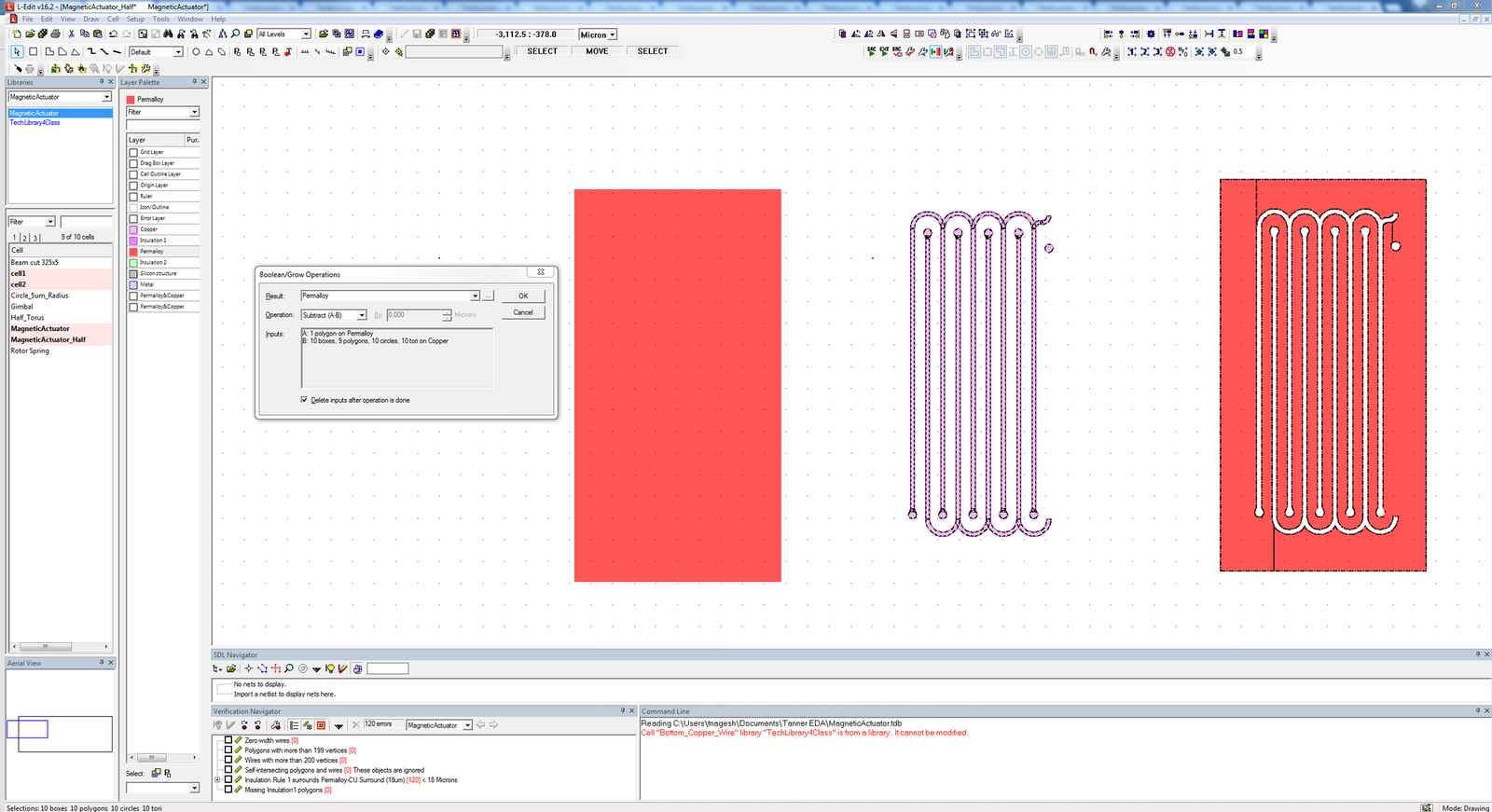 Tanner mems design flow mentor graphics complex polygon boolean operations nvjuhfo Image collections